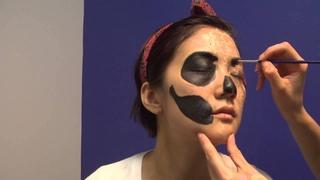 Puzzle Skull Makeup Tutorial