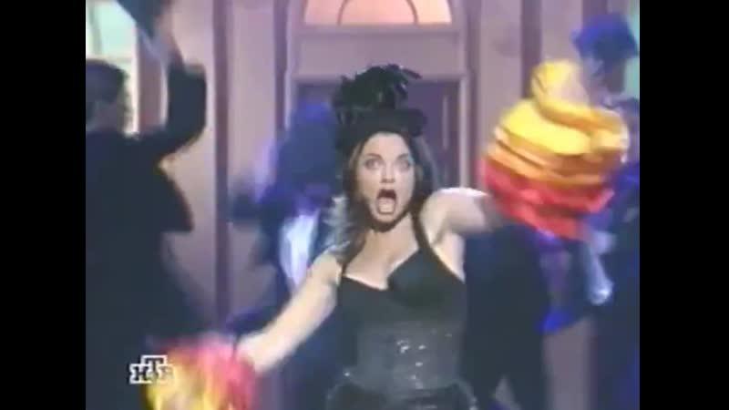 Наташа Королёва Карамболина Новый год в Опере НТВ 31 12 1997 Новый год 1998