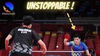 Fan Zhendong vs Jeoung Youngsik | Match analysis