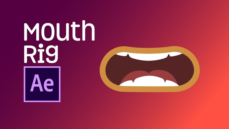 After Effects Tutorial Mouth Rig Joysticks n Sliders Easy to animate mouth for lip sync