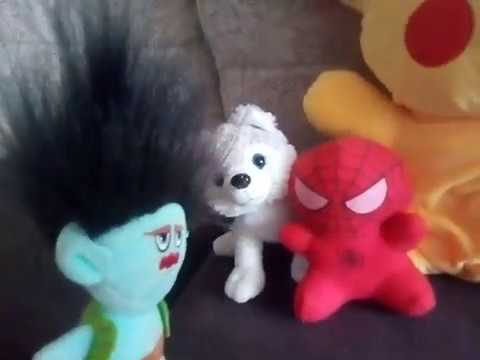 Стичь съел Пухлика Игрушки Мультик Stych ate Pukhlik