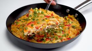 Вкусно и сытно! ОВОЩНОЙ ОМЛЕТ ПО-ИТАЛЬЯНСКИ на сковороде. Рецепт от Всегда Вкусно!