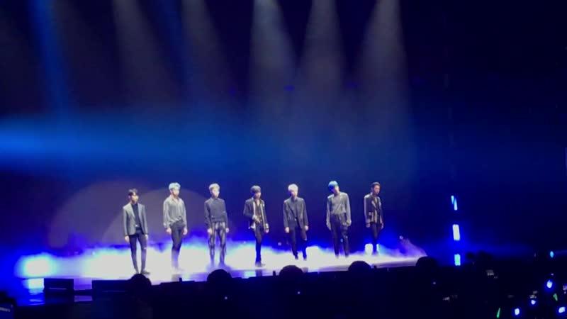 Super M In Chicago I Can't Stand The Rain - Danger(Taemin Solon) Goodbye(Taemin Solo)