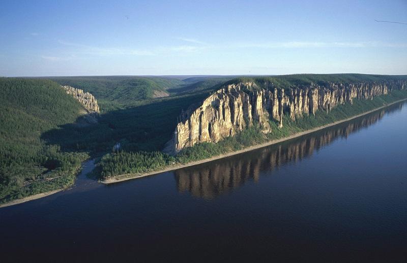Где находится национальный парк Ленские столбы? | 518x800