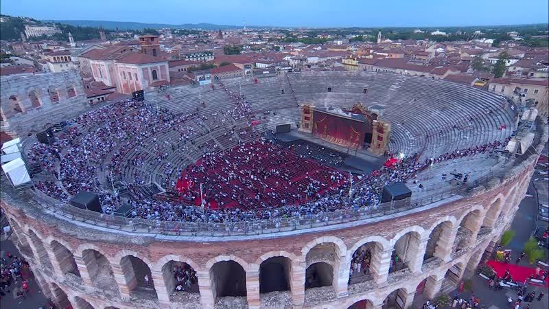 La Traviata Arena di Verona June 2019 standup
