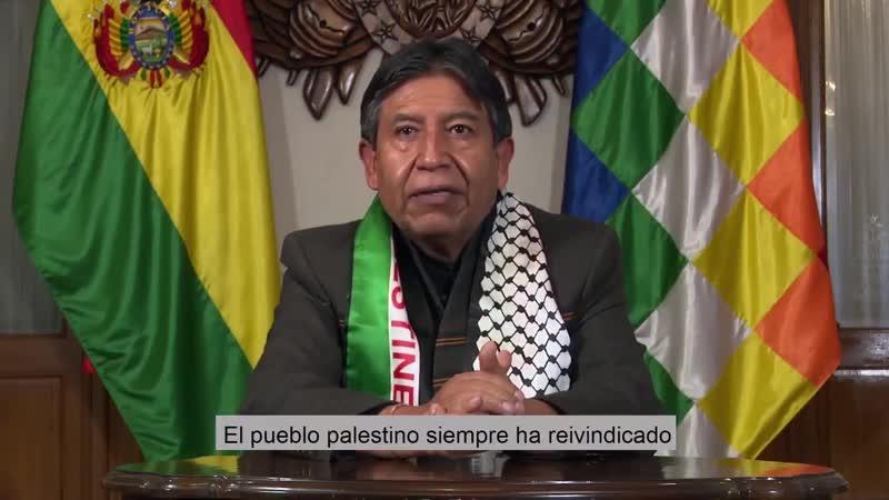 Вице президент Боливии Преступления сионистского режима против гражданского населения женщин и детей не будут забыты