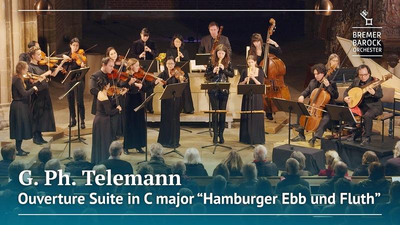 G Ph Telemann Ouverture Suite in C major Hamburger Ebb und Fluth TWV 55 C3