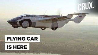 AirCar V5: Flying Car That Drives On Roads In Minutes Completes Inter-City Flight