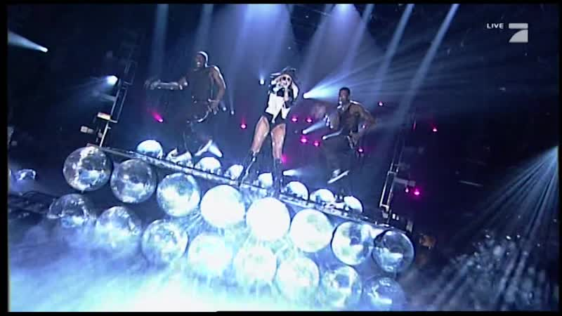 Lady Gaga Poker Face Live at Schlag Den Raab 4 18 2009