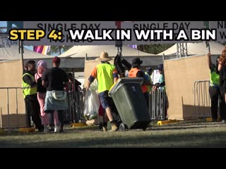 How to get into a festival for free!!!