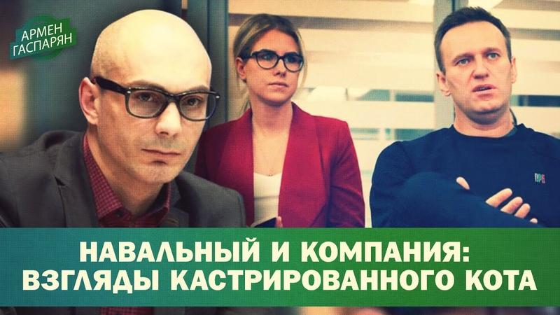 Навальный и компания мировоззрение кастрированного кота Армен Гаспарян