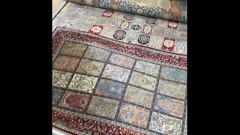 Stone Zhang on Instagram handmade silk rug shipped to customer carpet carpets rug rugs carpetshop carpetstore rugshop rugst
