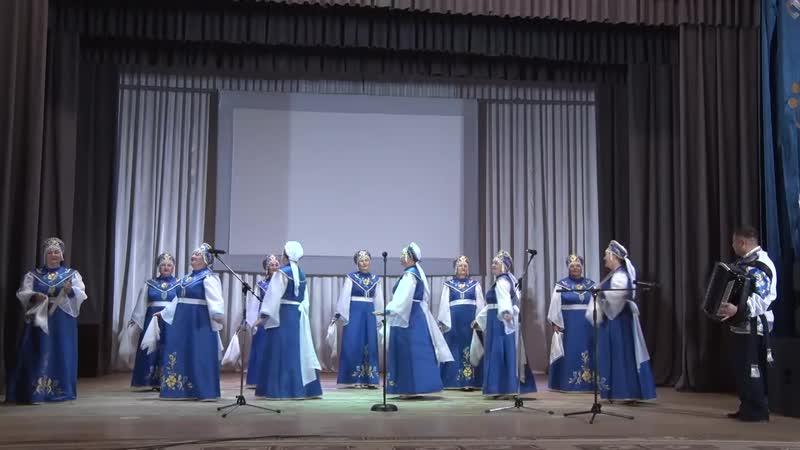 Вокальный ансамбль русской песни Родник Иглинский р н Молодая канарейка