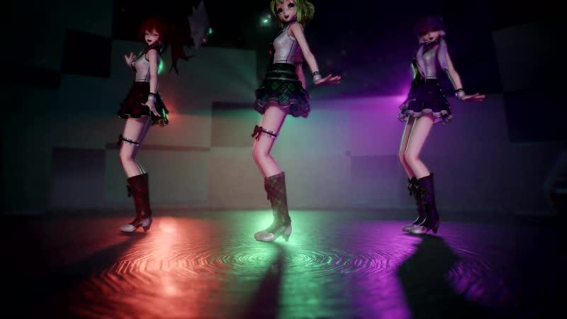 【MMD】Everyday ⁄ Perfume ⁄ AWA DANCE ⁄⁄ Gumi x CUL x Yukari ⁄⁄