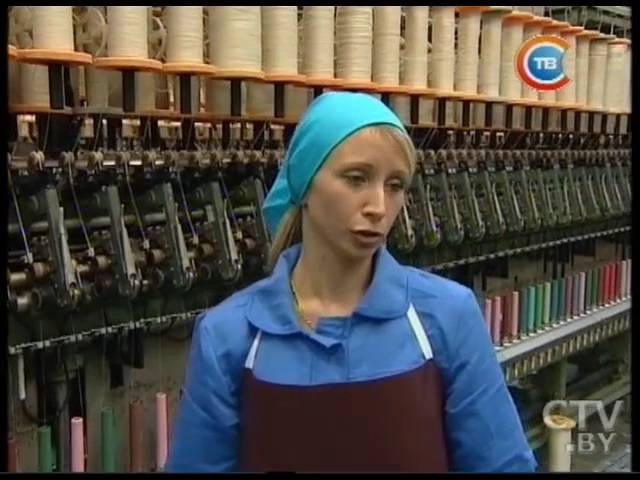 Виктория Панова прядильщик Оршанского льнокомбината и делегат V Всебелорусского народного собрания