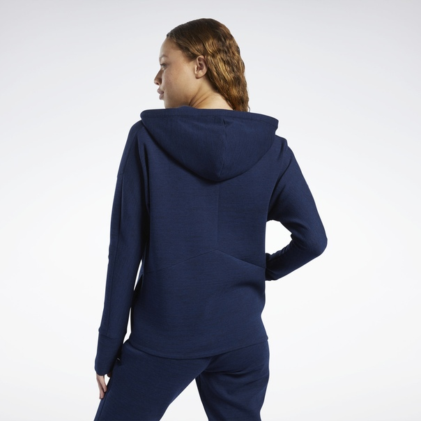 Худи United by Fitness Doubleknit Full-Zip image 3