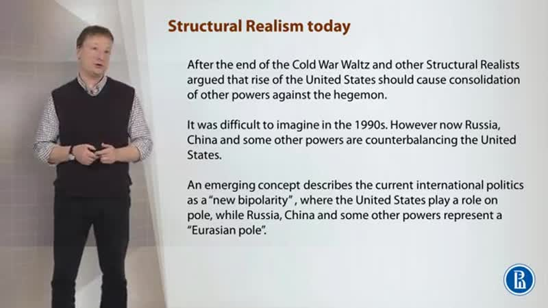 22 Development of structural realism Structural realism today