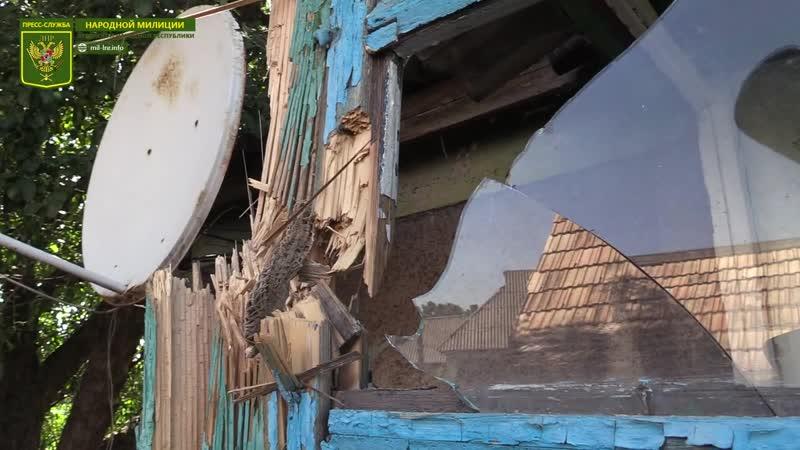 ВСУ продолжают методично уничтожать мирные посёлки