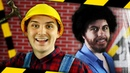 Bob Ross vs. Bob the Builder - Rap Battle! April Fools - ft. littlesecks, Mr. Tibbs Zawesome