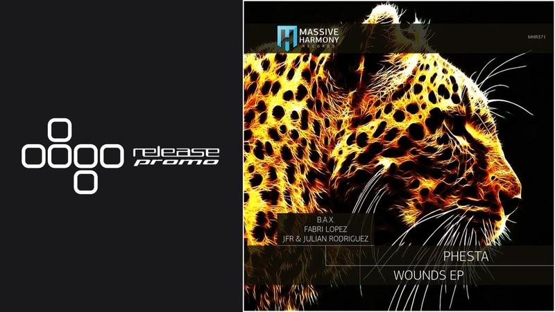 PREMIERE Phesta Wounds Fabri Lopez Remix Massive Harmony Records