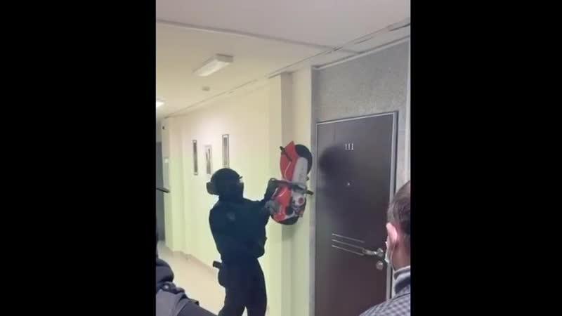 Обыск в квартире Михаила Иосилевича