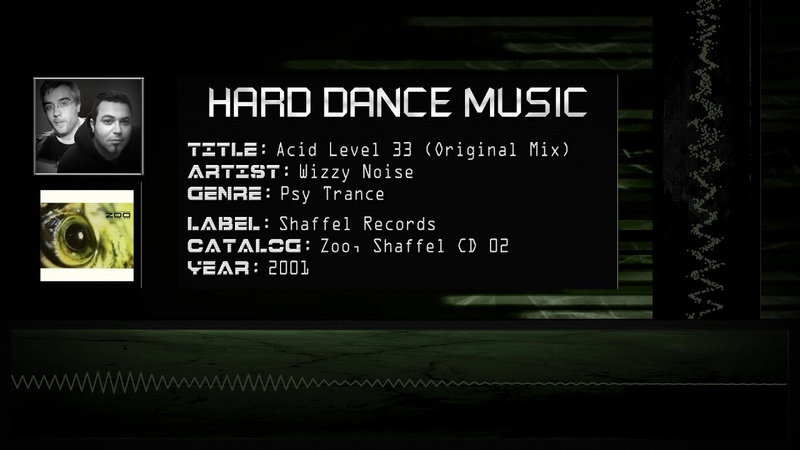 Wizzy Noise Acid Level 33 Original Mix HQ