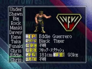 PSX fire-pro wrestling-g real names