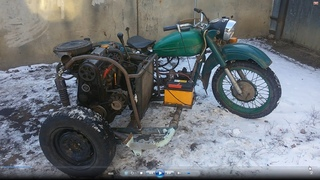 Такого мотоцикла вы не видели 3.Дрифтрайк с двигателем ВАЗ 2109.