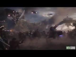 Как снималась главная битва Мстителей