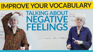 Vocabulary to talk about your feelings in English: anger, fear, and confusion