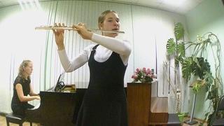 """А.Вивальди """"Концерт""""3 ч.Исполняет Янченко Дарья.Преподаватель Мирная О.А.,      конц-ер Грачёва Л.Н."""