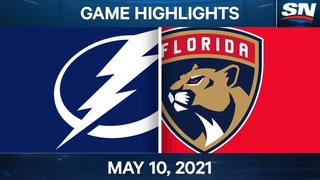 NHL Game Highlights | Lightning vs. Panthers - May 10, 2021