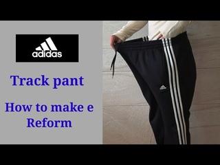 옷장속에 있는 큰옷들 가지고 따라와 보세요/The big-sized track pant transform into a sensuous way through reform