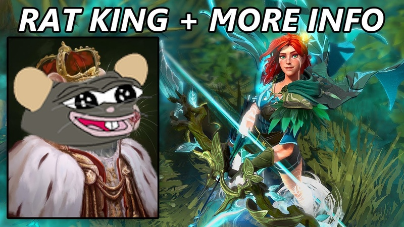 Windranger Arcana Reveals More Hints For New Heroes Rat King Engineer and Primal Beast