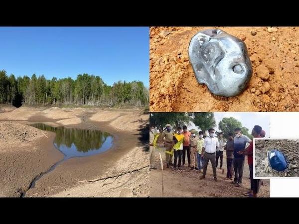 Cae un meteorito metálico en India podría valer millones Desaparece lago en Canadá