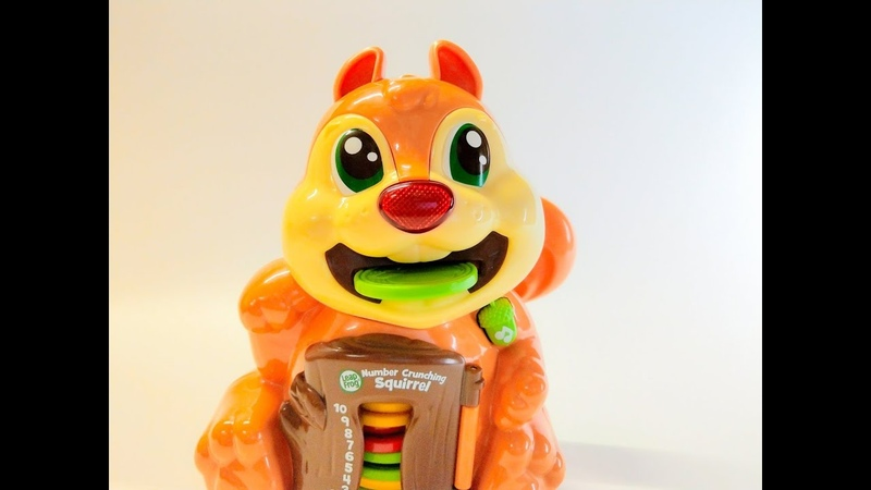Learn Numbers and Colors with Leapfrog Number Crunching Squirrel