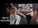 Bruce Lee versus Chuck Norris from 'The Way of the Dragon' with Slo-Mo.