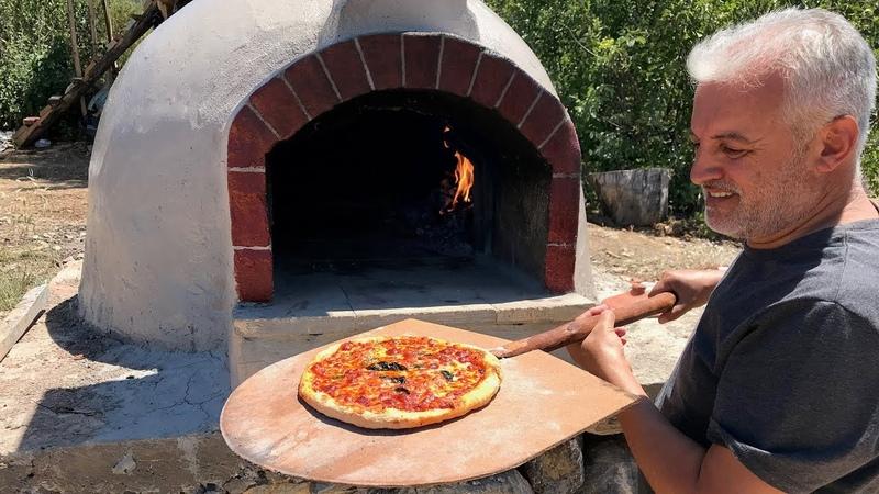TAŞ FIRIN KÖY FIRINI PİZZA FIRINI NASIL YAPILIR How to Build Outdoor Pizza Oven