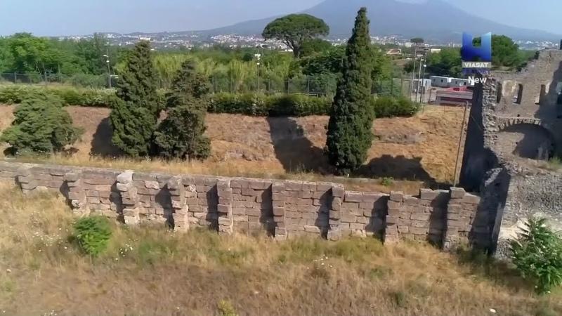 Последние дни Помпей Вторая серия Римские бани и археология Помпей HD
