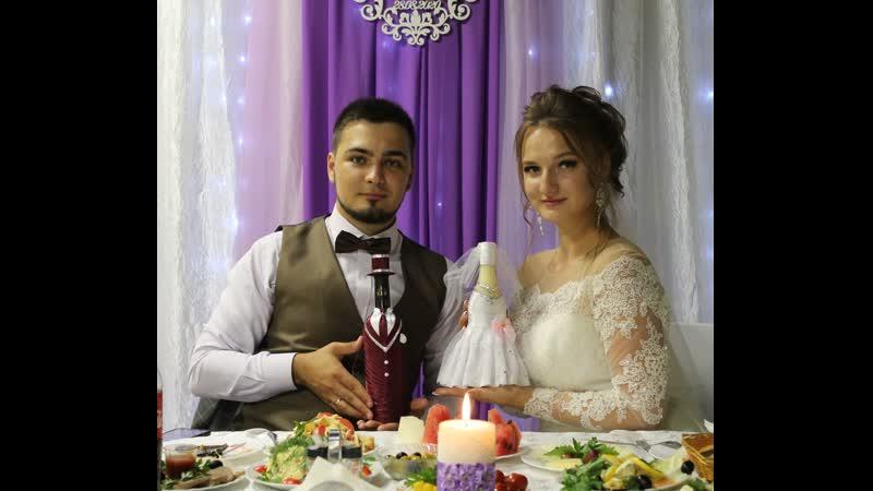 Видеоролик песком на свадьбу love story