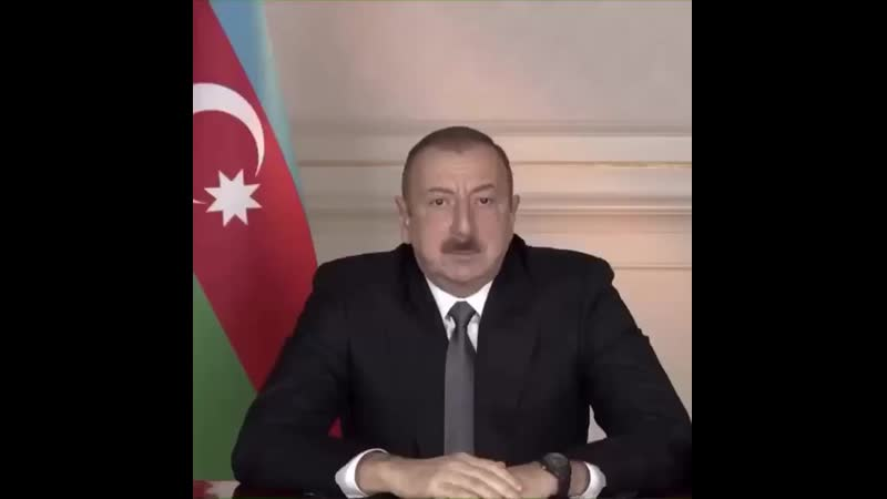 Ilham Aliyev being sick for 5 seconds