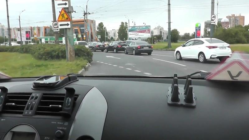 Круговые Перекрестки и проезды на автомобиле