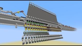Wintergatan - Marble Machine in Minecraft