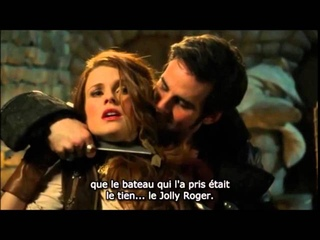 """OUAT """"Hook and Ariel, first meeting"""" scene s03e17"""