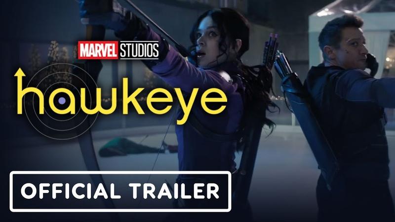 Marvel Studios' Hawkeye Official Trailer 2021 Jeremy Renner Hailee Steinfeld