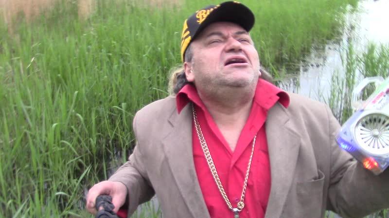 Сьёмка клип=Семь небес=на озере поёт певец ПРОРОК САМБО-й