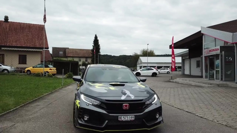 Honda Civic Type R GT 2017 Camouflage by greubDesign