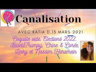 Coquille vide, Elections 2022, Bidet, Chine & Corée, Schwab/Soros, Linky, Nassim H : Canalisation