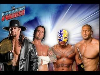 WWE Bragging Rights 2009 The Undertaker Vs Batista Vs CM Punk Vs Rey Mysterio