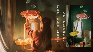 #26 For the Love of Flowers / DIY Washi Paper Flower Lamp / Chụp Đèn Hoa Giấy {SUB}
